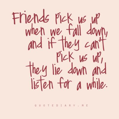 so true. true friends