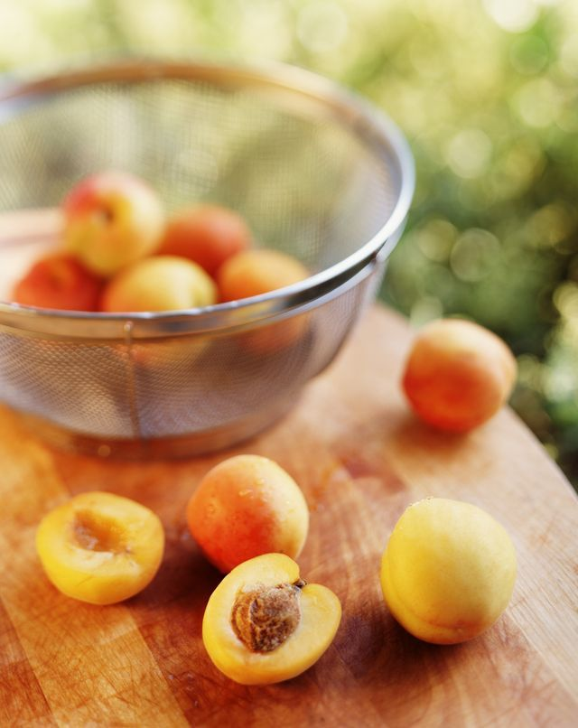 Use this recipe for a peach facial and body scrub which includes coconut oil, organic peaches, and brown sugar to brighten and exfoliate your face.