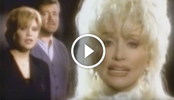Dolly Parton's music video for her single 'Just When I Needed You Most'.