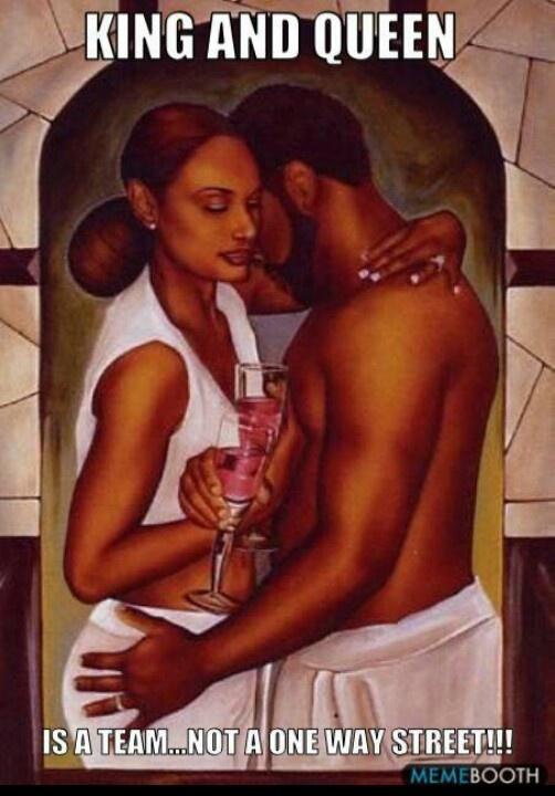 wedding ideas Black Love ~ A King his Queen http://youtube.com/watch?v=BQruHJM8wK4