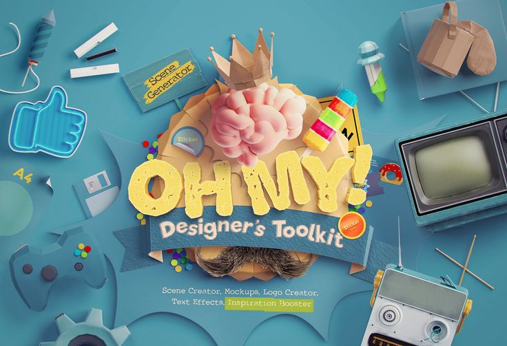 Oh My! Designer's Toolkit by LStore on @creativemarket