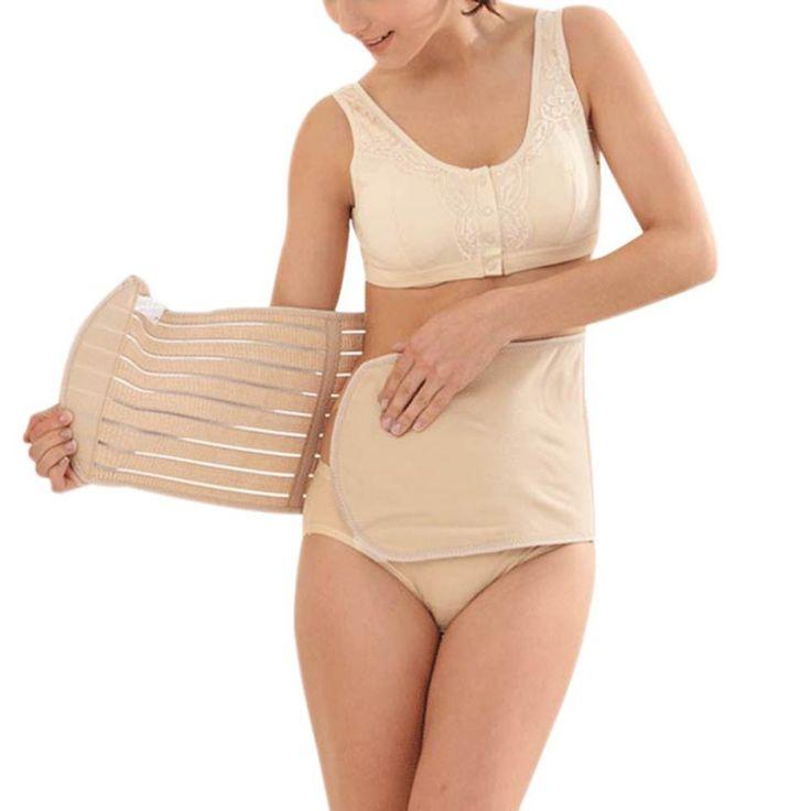 Femmes Post Natal ceinture minceur Shaper Corset post-partum ceinture Bustier taille gratuit