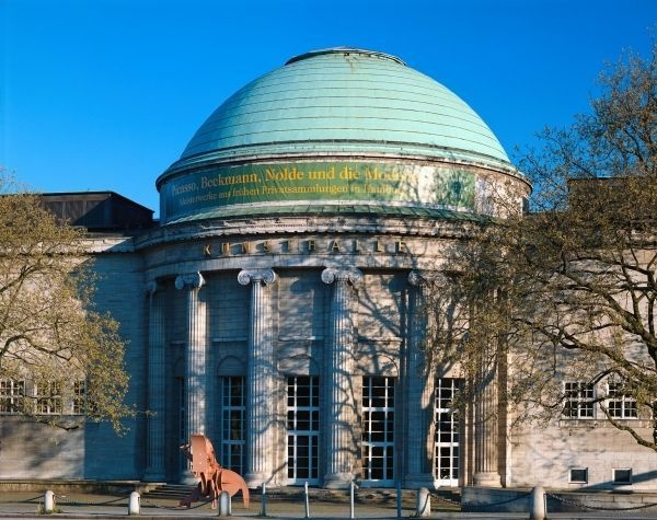 The Kunsthalle (Art Museum) Hamburg where you can view unfamiliar pieces by French masters such as Delacroix, Monet, Degas, Renoir, Cezanne, Courbet and Toulouse-Lautrec.