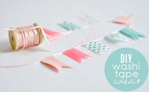12 DIY Washi Tape Craft Ideas