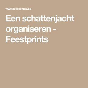 Een schattenjacht organiseren - Feestprints