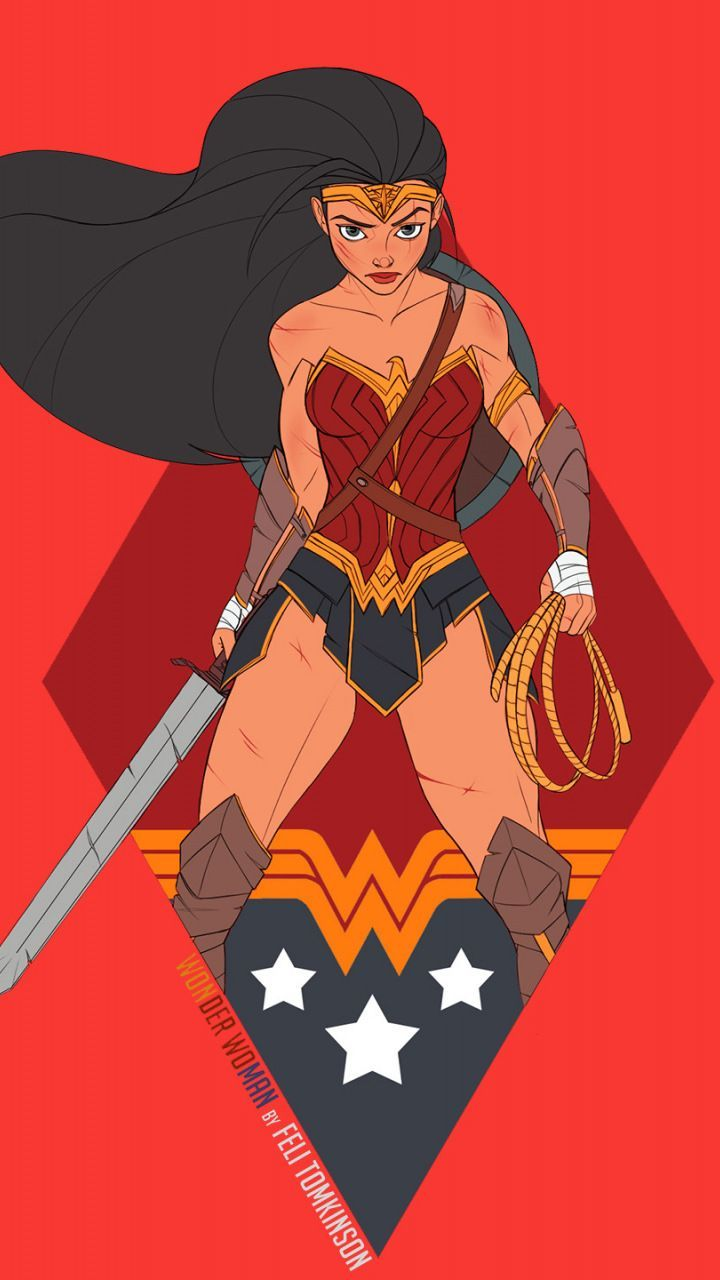 Wonder Woman Dc Comics Superhelden Minimal Fan Art 720x1280 Hintergrundbild Game Of Thrones Games And Movies World Welcome Superhero Wallpaper Batman Comic Art Fan Art
