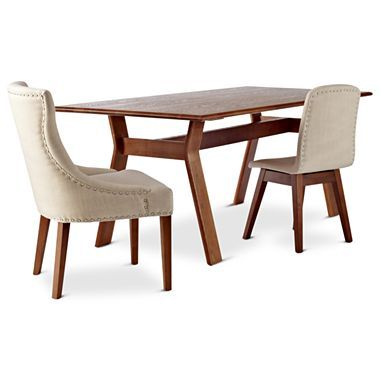 Happy chic by jonathan adler bleecker 79 rectangle dining for Jcpenney dining room furniture