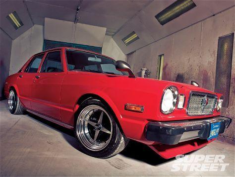 1974 Toyota Cressida - JDM Lowrider #red