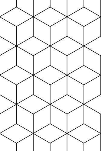zilverblauw | wallpaper | hexagonal-black | zilverblauw.nl #zilverblauw: