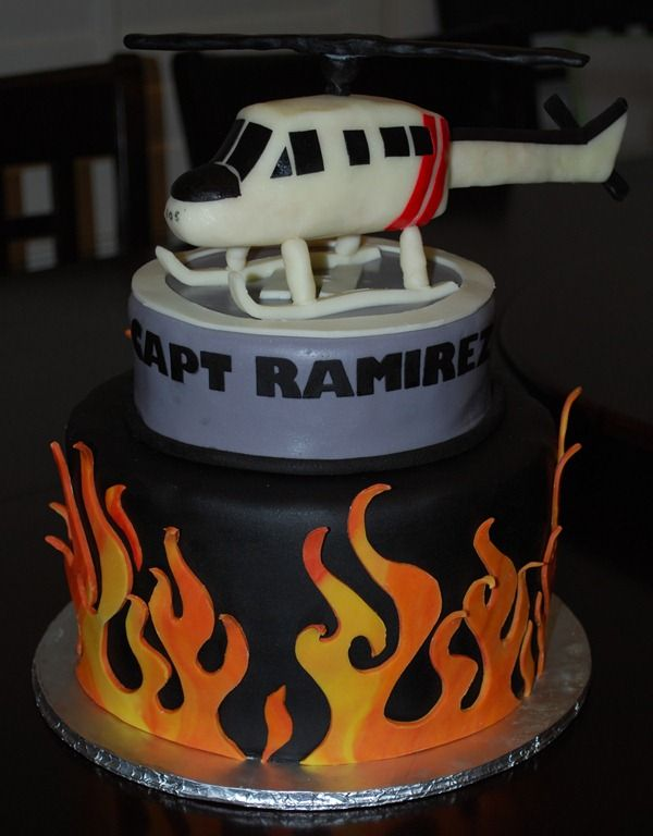 338 best Hot Cakes images on Pinterest Firefighter cakes