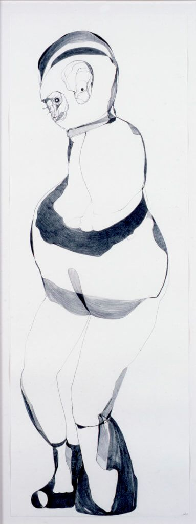 Nicola Tyson, Untitled, 2009, drawing