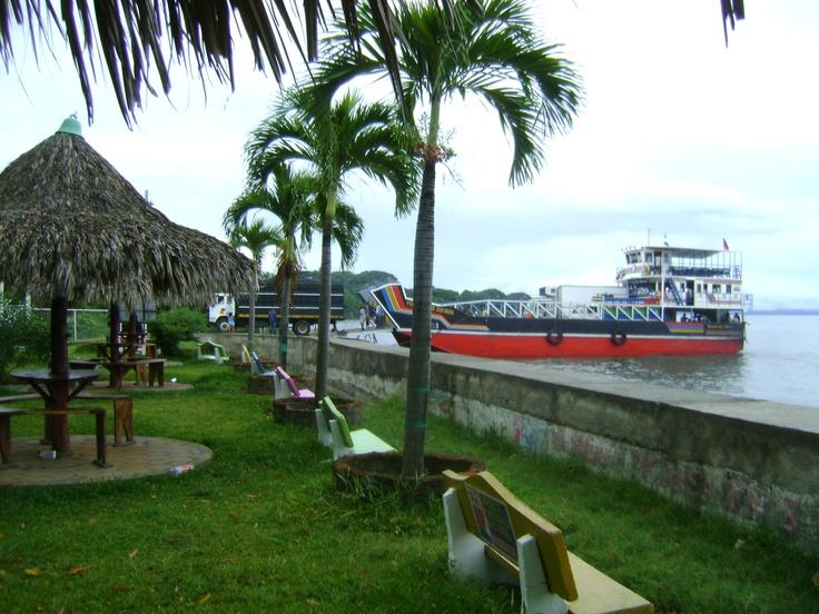 Puerto en Moyogalpa, Ometepe #Nicaragua