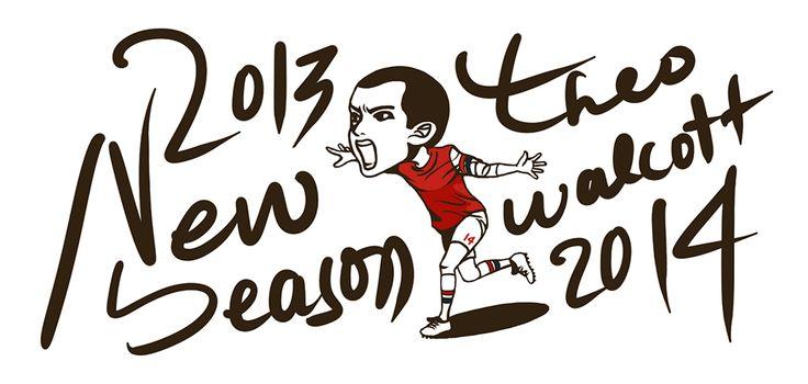 Caricature  Theo walcott