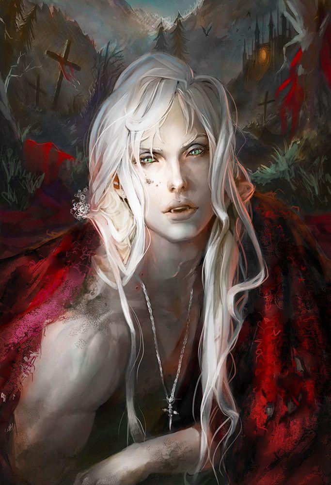 Male Vampire Male Vampire In 2020 Vampire Art Male Vampire Art