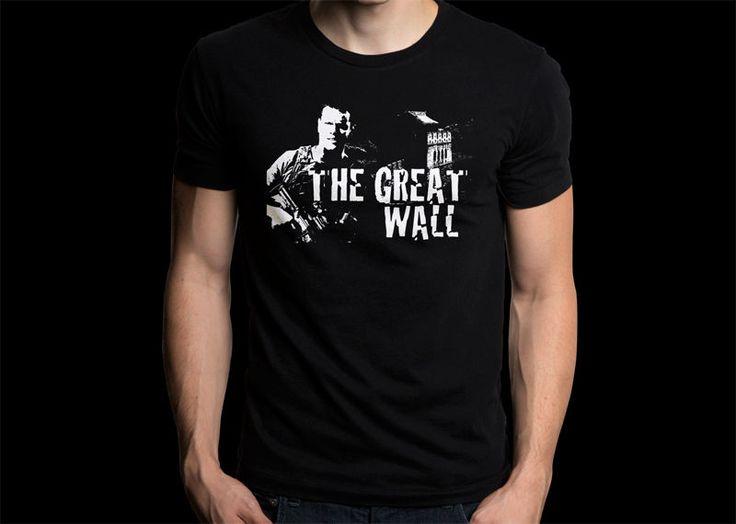 Matt Damon Might Lead Legendary's China-Set THE GREAT WALL Movies Black T-shirt #Gildan #PersonalizedTee