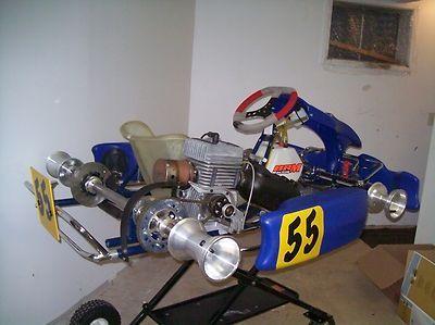 Yamaha BRM Racing Go Kart Chassis