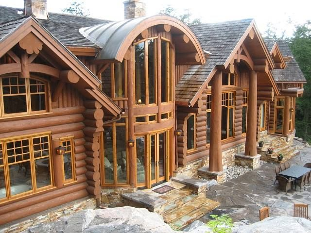 389 best Log Houses images on Pinterest Log cabins Wood cabins