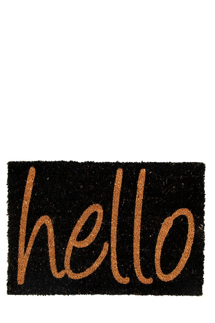 Coir Hello 40x60cm Door Mat| Mrphome Online Shopping