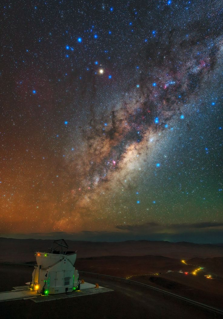 Da Residencia à Via Láctea