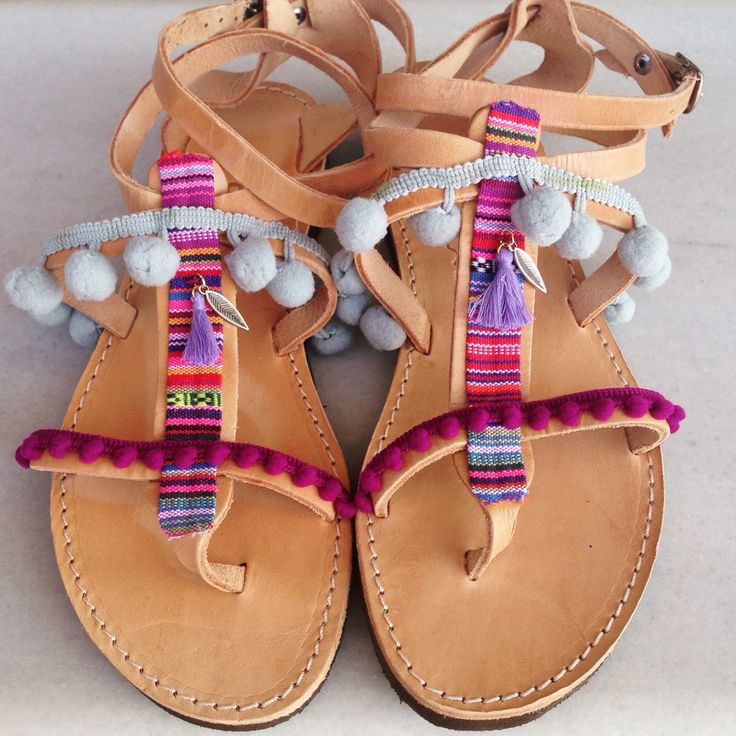 Bohemian Indian sandals  by @bohemian__dreams