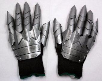 Manos robóticas Steampunk traje mecánico guantes Cosplay