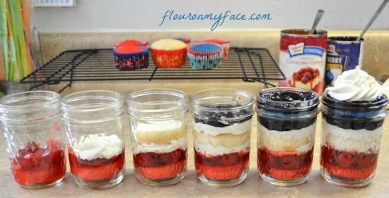 {sponsored} All You Magazine and 4th of July Berrylicious Cupcakes in a Jar