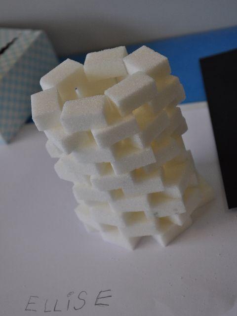 bouwen met suikerklontjes - Google zoeken
