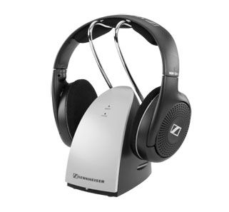 Sennheiser RS 120 II Wireless Headphones. The lightweight RS 120 lets you enjoy freedom of movement without cumbersome cables. The headphones come complete with an easy-to-use recharging system. After use, simply place the headphones onto their convenient transmitter base station and they will automatically recharge for the next use.  www.needledoctor.com