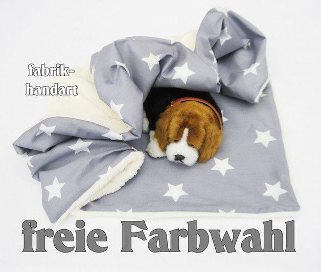 Hund: Decken - Hundedecke , Heimtierdecke - ein Designerstück von fabrik-handart bei DaWanda