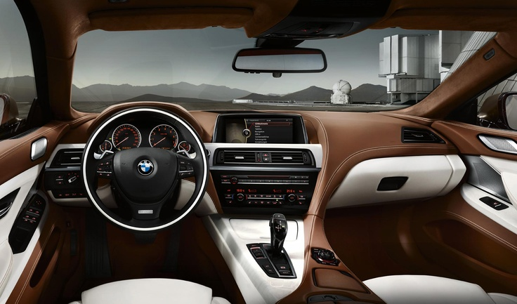 BMW 6 Series with Bang & Olufsen Sound System