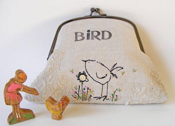 Handmade purse - cute!