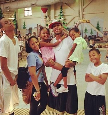 Allen Iverson and kids