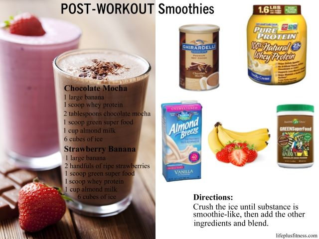 how to make protein shakes thicker