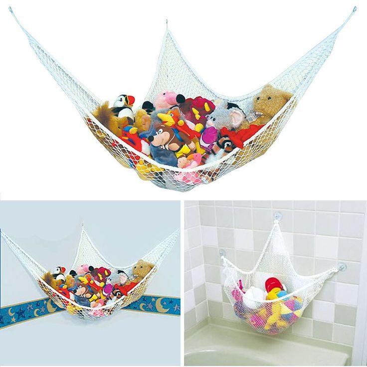 Banho de saco de armazenamento de brinquedos de pelúcia brinquedos hammock crianças coleção de brinquedos do bebê saco de armazenamento cabide ninho tamanho diferente/cesta em Cestas de armazenamento de Home & Garden no AliExpress.com | Alibaba Group