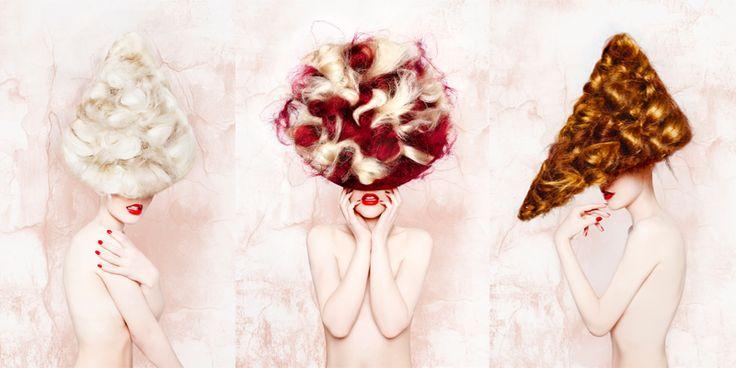 Contribution: Avant Garde of the year 2013 - By me  #avantgarde #hair #fashion #pontusjudas