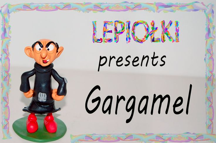 TUTORIAL: Gargamel ஓ polymer clayஓ made hand ஓ lepiołki