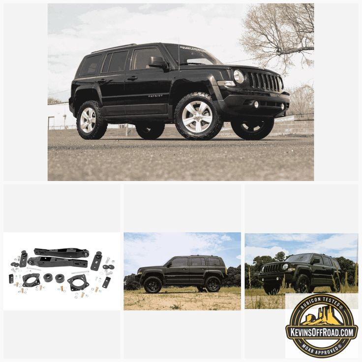 "2"" Suspension Lift Kit Rough Country Jeep Patriot 2010"