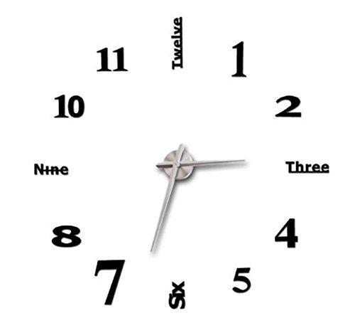 Wanda-b 壁 時計 ウォール クロック ステッカー おしゃれ DIY 簡単 部屋 いっぱい Wanda-b…
