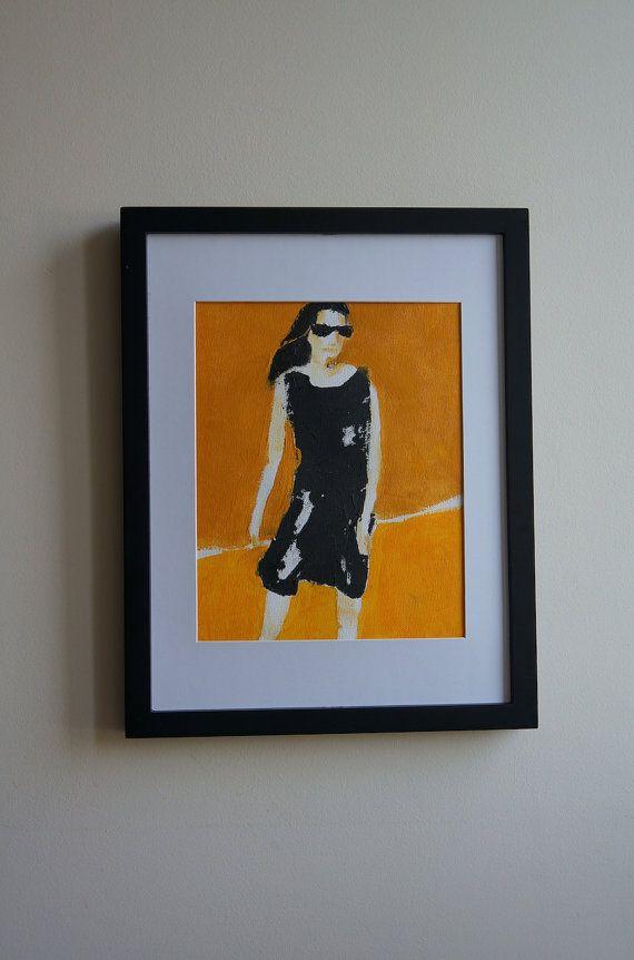 Girl with dispelled hair in the summer sun. by ankaGilding on Etsy
