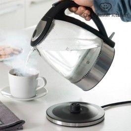 Elektrisk vannkoker med LED, Chef Master Kitchen.
