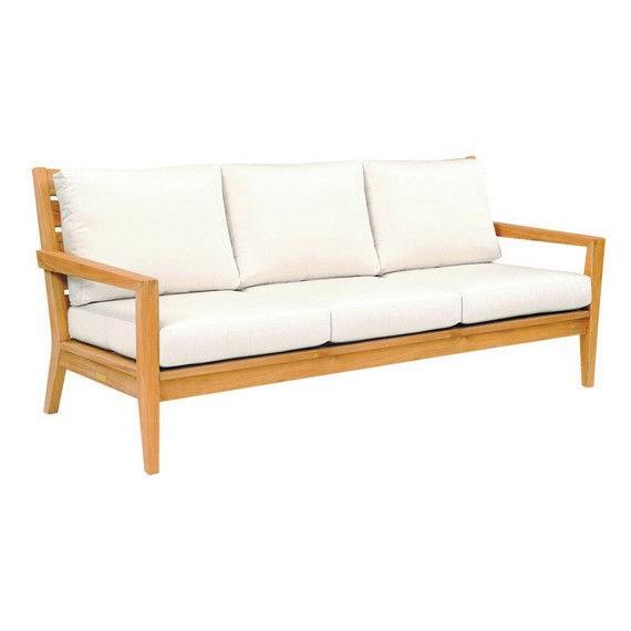 Kingsley Bate: Elegant Outdoor Furniture. Solid, Grade A Teak Algarve Sofa. Part 48