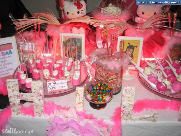 Candy Buffet Ideas Candy Buffet Hello Kitty Offered