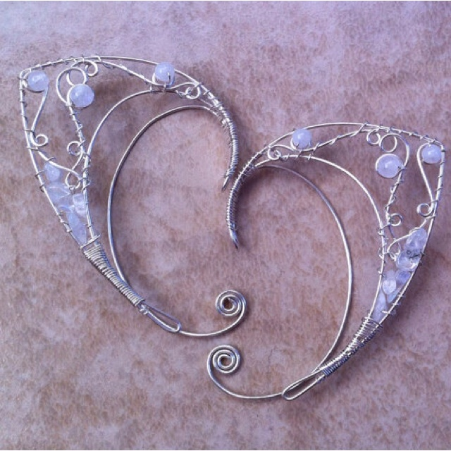 Wire elf ears