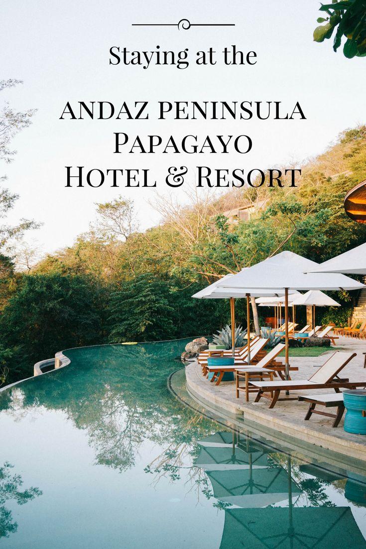 Staying at the Andaz Peninsula Papagayo Hotel & Resort