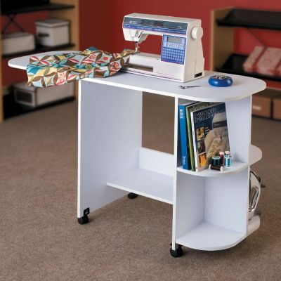 Folding Sewing Table...might work for me!
