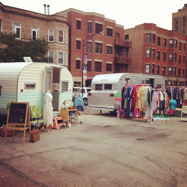 A Sort Of Fairytale: mobile vintage shops this is what I want to do with get stitched