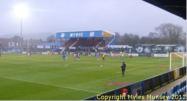 Macclesfield Town FC - Moss Rose