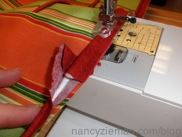 How to Sew Piping Nancy Zieman Sewing A to Z