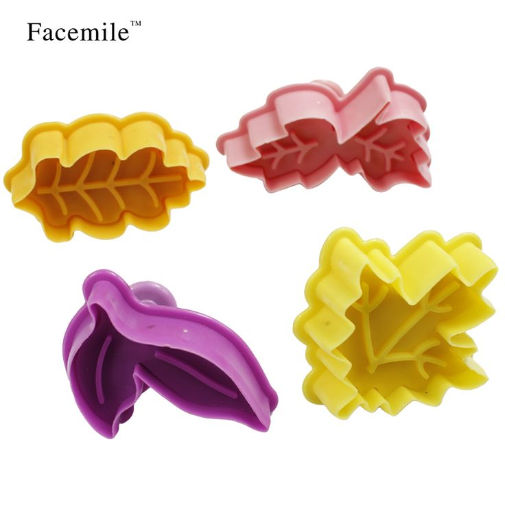 Facemile 4PCS/SET Leafe Shape Spring Plastic Cake Tool Fondant Cake Decorating Sugarcraft Tools Biscuit Cookie Cutters 03102 on Aliexpress.com | Alibaba Group