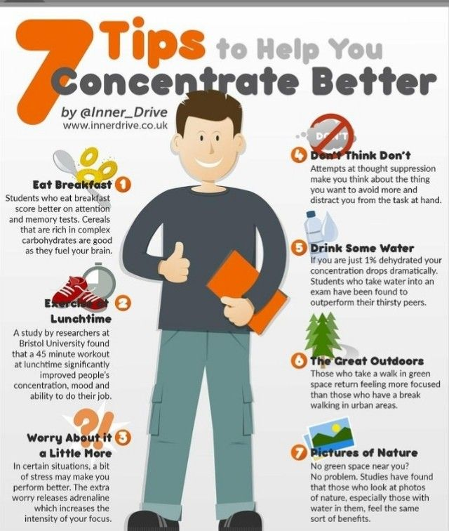 How To Improve Concentration Improve Concentration Skills To Learn Metacognition